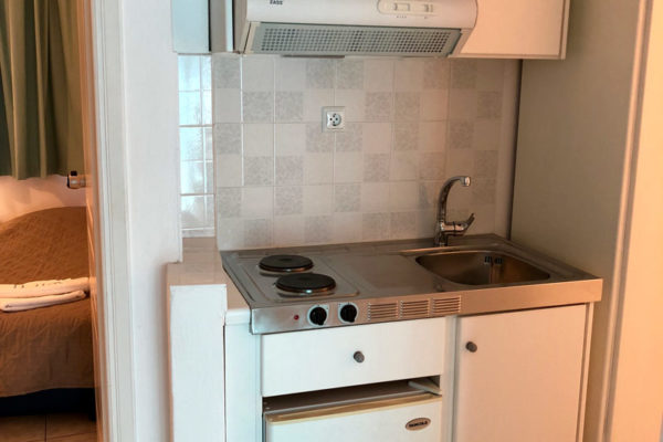 Family Apartment Kitchenette - IRIS skiathos