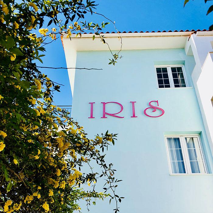 IRIS Skiathos - Garden Side Exterior View